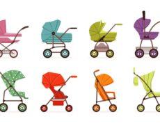 Wózki dziecięce 2 w 1 z gondolą i siedziskiem spacerowym